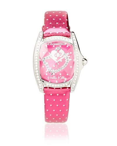 Hello Kitty Pink Dot Stainless Steel Watch