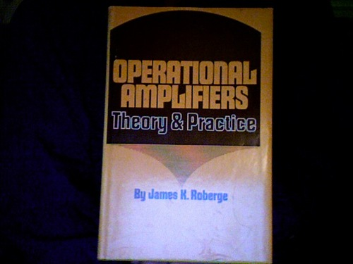 Operational Amplifiers : Theory and Practice