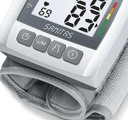 Sanitas SBC 21 - Handgelenk-Blutdruckmessgerät, grau - 4