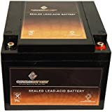 Chrome Battery 12V 26AH Sealed Lead Acid (SLA) Battery For MK ES26-12FR HR