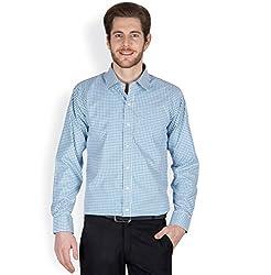 Arihant Men's Cotton Checkered Formal Shirt (AR73010138)