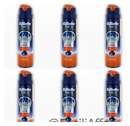 6-x-gillette-fusion-proglide-sensitive-gel-crema-da-barba-active-sport