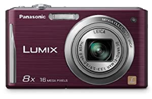 Panasonic DMC-FH25V 16.1MP Digital Camera with 8x Wide Angle Image Stabilized Zoom and 2.7 inch LCD - Violet