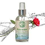THE BEST Organic Rosewater Toner Mist with Bulgarian Rose - Paraben Free!