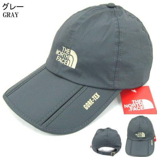 野球帽 薄手 ノースフェイス THE NORTH FACE 折りたたみ TNF CAP 5193 グレー 春夏