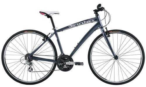 Diamondback Bicycles 2014 Clarity 1 Women's Performance Hybrid Bike (700cm Wheels), 20-Inch, Grey at Sears.com
