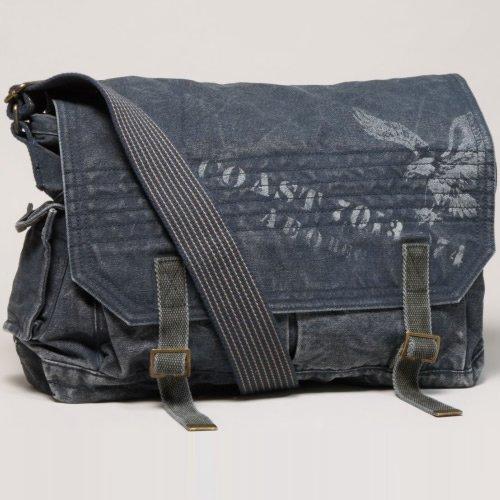 (アメリカンイーグル) AMERICAN EAGLE キャンバスメッセンジャーバッグ