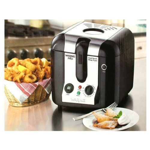 Waring Pro WPF100BPC Professional Cool Touch Deep Fryer