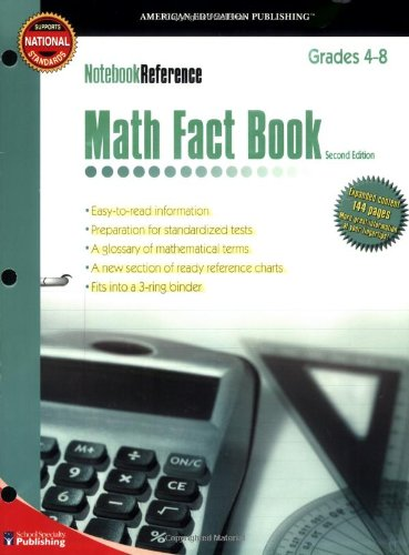 Math Fact Book: Grades 4-8 (Notebook Reference) 2nd Edition image