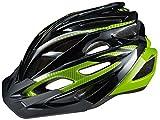 Cannondale(キャノンデール) ヘルメット ラディウス CU4003SM05 ブラック/グリーン S/M(52-58cm)