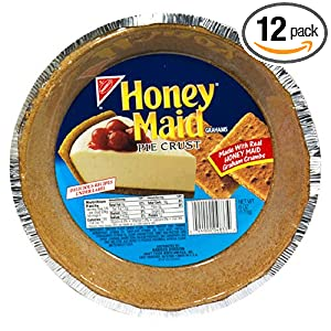 Honey Maid Grahams, Pie Crust, 6-Ounce Packages (Pack of 12)