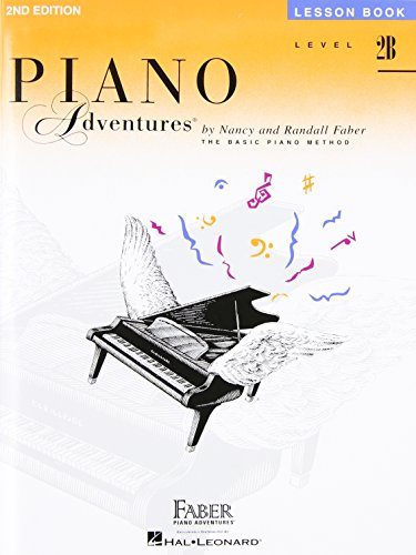 Piano Adventures, Level 2B, Lesson Book