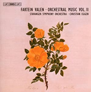 Valen F Orchestral Music Vol 2 Eggen - Symphonies Nos 2 And 3 Epithalamion by BIS