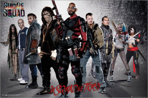 Poster Suicide Squad - Group - manifesto risparmio, cartellone XXL