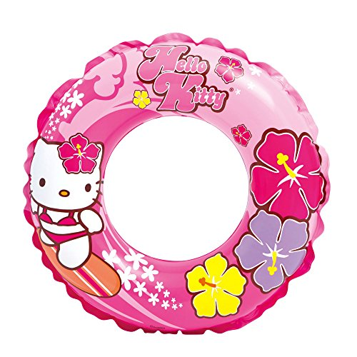 "Intex Hello Kitty Swim Ring, 24"" Diameter, for Ages 6-10 - 1"