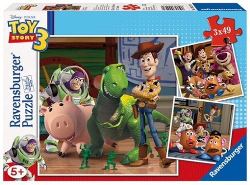 Ravensburger Toy Story3 3x49 piece Puzzle