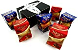 Terry's Chocolate Oranges, Orange Flavored Milk, and Dark Chocolate, 6.17 oz Packages in a Gift Box (Pack of 6)