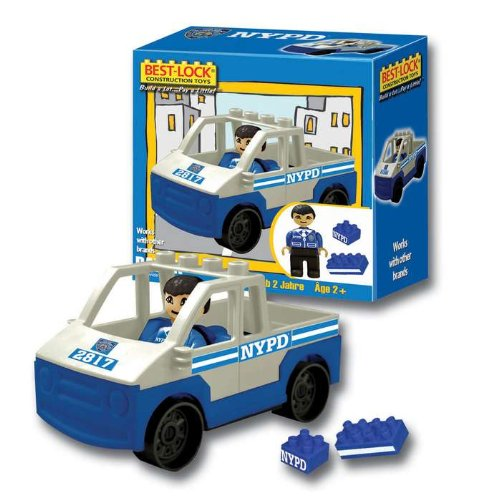 Nypd PRE-SCHOOL Playset