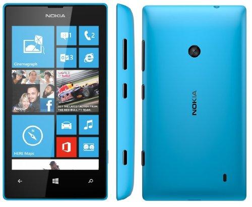 Nokia Lumia 520 Quad-Band GSM Unlocked Smartphone – Blue