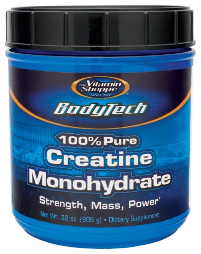 BodyTech - Creatine Monohydrate 100% Pure, 5 gm, 906 g powder