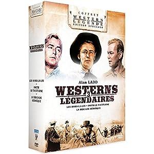 Alan Ladd - 3 westerns légendaires : Smith le Taciturne + Les Hors-la-Loi + La Brigade Héroïque