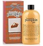 Philosophy Homemade Pumpkin Pie Shampoo, Shower Gel and Bubble Bath, 16 Ounce