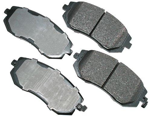 Akebono ACT929 ProACT Ultra-Premium Ceramic Brake Pad Set