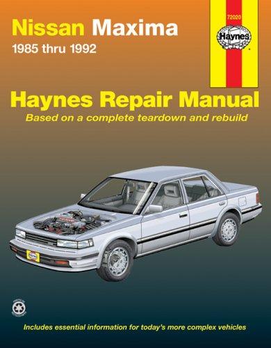 haynes-nissan-maxima-automotive-repair-manual-all-nissan-maxima-models-1985-through-1992