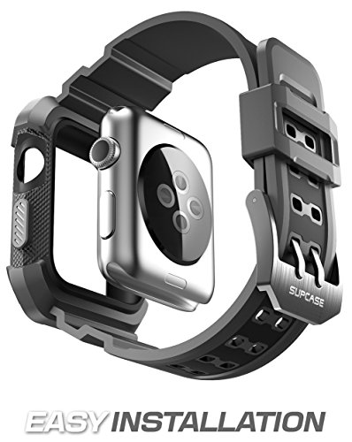 Apple-Watch-Case-SUPCASE-Unicorn-Beetle-Pro-Rugged-Protective-Case-with-Strap-Bands-for-Apple-Watch-Watch-Sport-Watch-Edition-2015-42mm-Not-Compatible-with-38-mm
