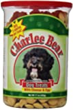 Charlee Bear Dog Treat, 17-Ounce, Cheese/Egg