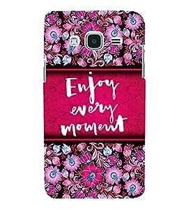 Enjoy Every Moment 3D Hard Polycarbonate Designer Back Case Cover for Samsung Galaxy J3 (6) J320F :: Samsung Galaxy J3 (2016)