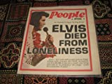 Modern People Newspaper Special (Elvis Presley , An Instant Tribute To The King , Elvis Dies From Loneliness, 1977) Amazon.com