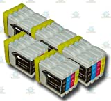 20 Chipped LC1000/LC970 Compatible Ink Cartridges for the Brother DCP-357C Printer