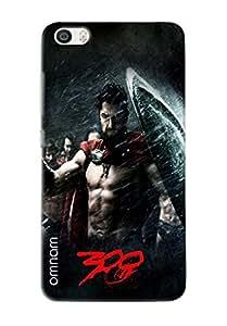 Omnam Spartans Of Movie 300 Printed Designer Back Cover Case For Xiaomi Mi5