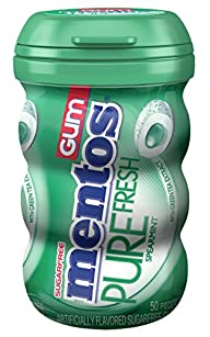 Mentos Gum Big Bottle Curvy, Pure Fre…