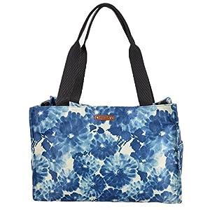 Kate Spade Cedarmere Baby Diaper Multifunction Bag Tote Blue Floral