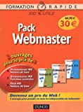 Pack Webmaster 3 volume : Tomer 1 : Dreamweaver MX Fonctions de Base ; Tome 2 : Dreamweaver MX Fonctions avanc�es ; Tome 3 : Flash MX Notions de Bases