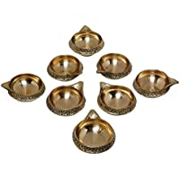 SWS Brass Kuber Diya Brass Deepak Diwali Pooja Item - Deepawali Lighting Brass Oil Diya Diwali Decoration Pooja... - B01LAU1H2S