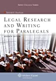 img - for Legal Research & Writing for Paralegals Seventh Edition (Aspen College) book / textbook / text book