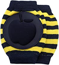 New Baby Crawling Knee Pad Toddler Elbow Pads 8055215 Black-yellow
