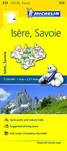 Mapa Local Isere, Savoie (Michelin Local Maps)