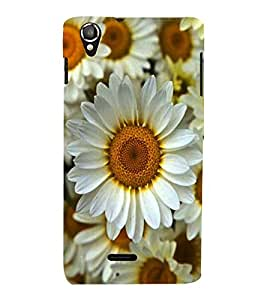 Vizagbeats sunflower Back Case Cover for Lava 800