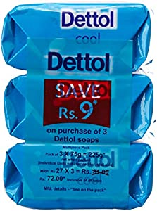Dettol Soap Value Pack, Cool