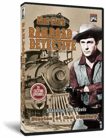 Matt Clark Railroad Detective - Stories Of The Century Classic Tv Collection