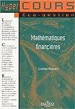 echange, troc Collectif - Mathématiques financières
