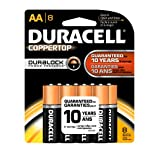 Duracell Coppertop with DuraLock AA - 8PK MN15B8PTPZ99