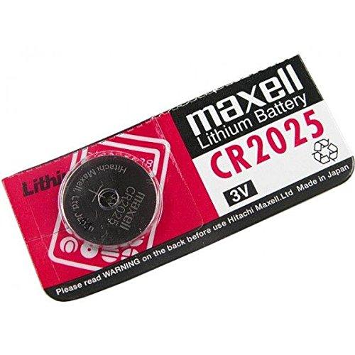 MAXELL piles bouton (cR2025) électronique, 148mAh lithium 3 v