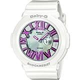 Casio Women's Quartz Watch Baby-G BGA-160-7B2ER with Rubber Strap