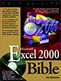 Microsoft Excel 2000 Bible (0764534491) by John Walkenbach