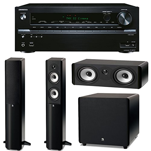 Onkyo Tx-Nr737 7.2-Channel Network A/V Receiver Plus A Boston Acoustics A-Series Home Theater Speaker Package! (A250, A225C & Asw250)